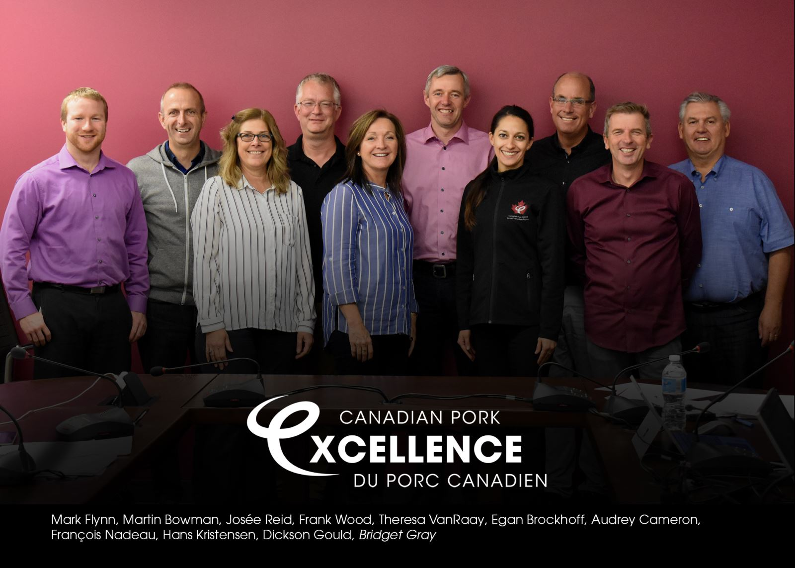 Canadian Pork Excellence Management Group Picture