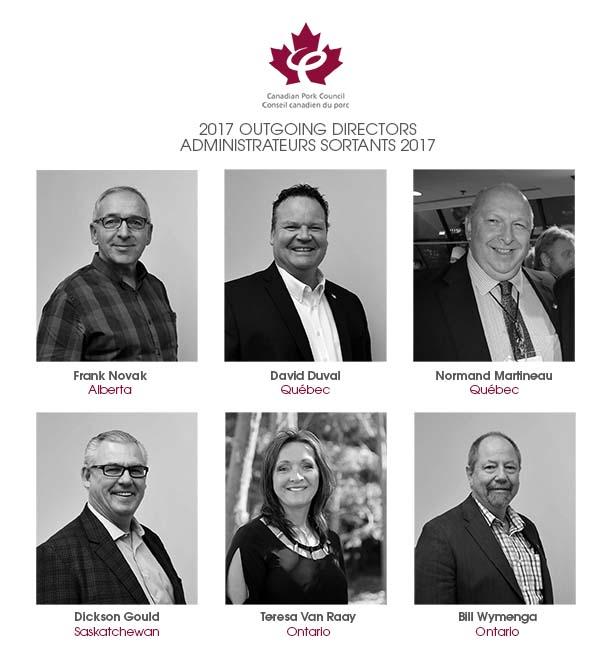 2017 Outgoing Board Directors Mosaic